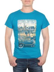 17623-6 футболка мужская, синяя
