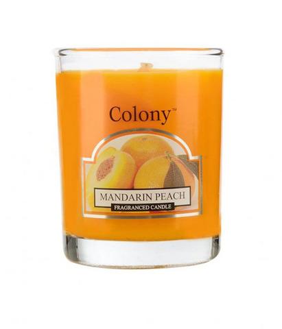 Свеча ароматическая лампадная Мандарин и персик, Wax Lyrical
