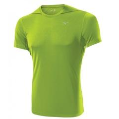 Мужская футболка Mizuno Drylite Core Tee lime (J2GA4012 37)