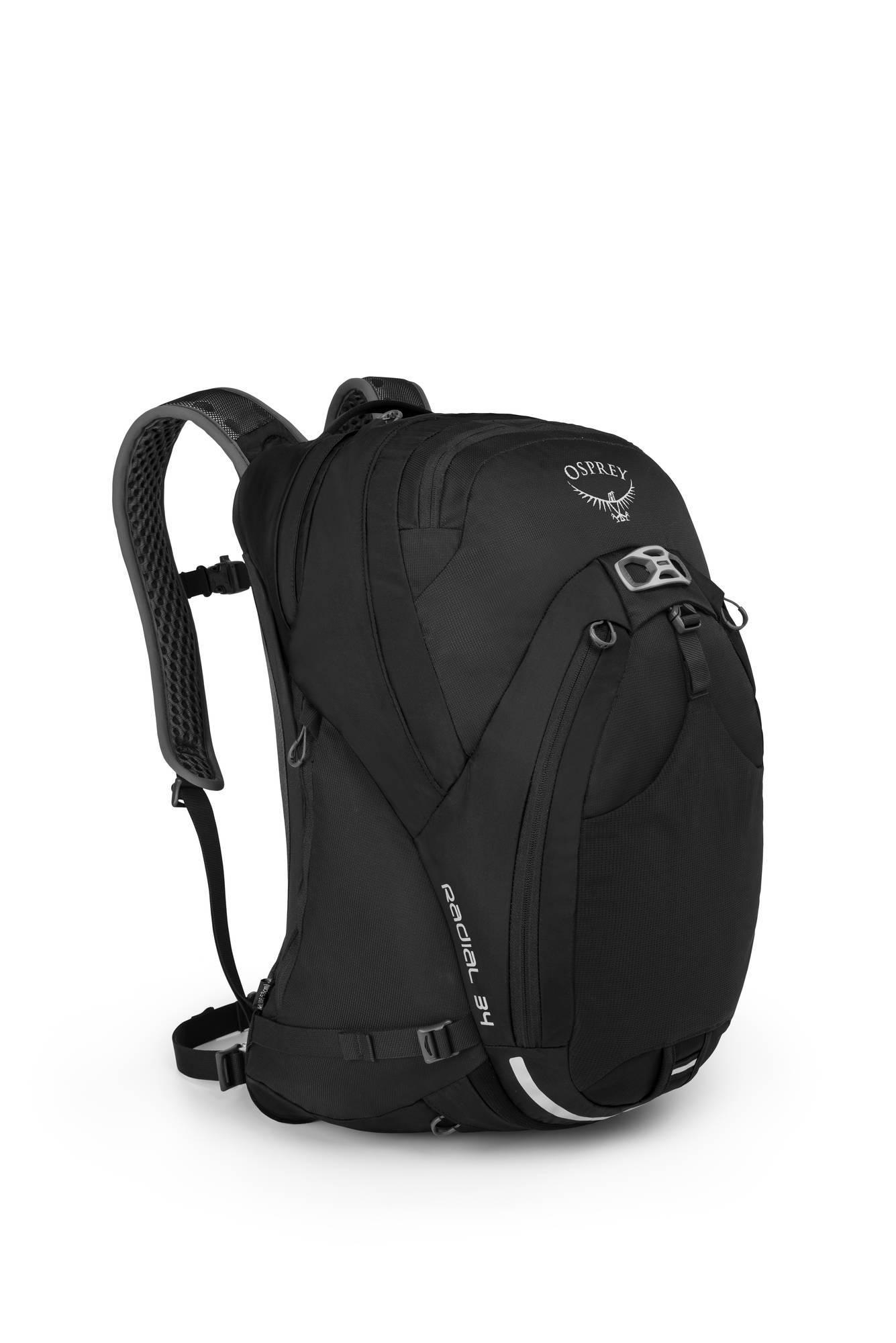 Городские рюкзаки Городской велорюкзак Osprey Radial 34 Radial_34_Side_Black_web.jpg