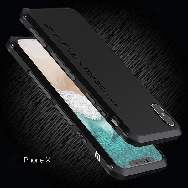 Чехол Element Case Solace для iPhone X черный