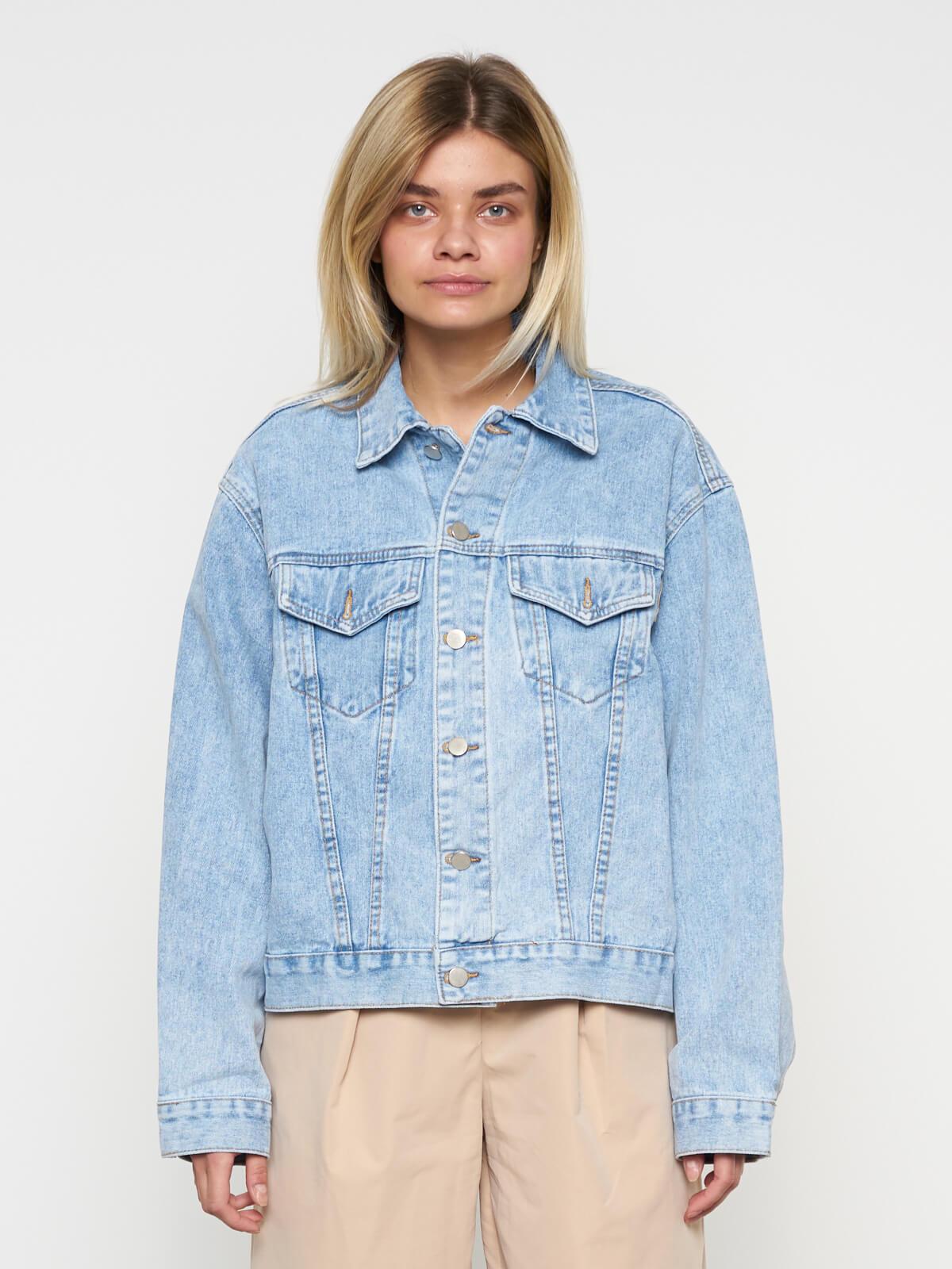 Куртка джинсовая свободная