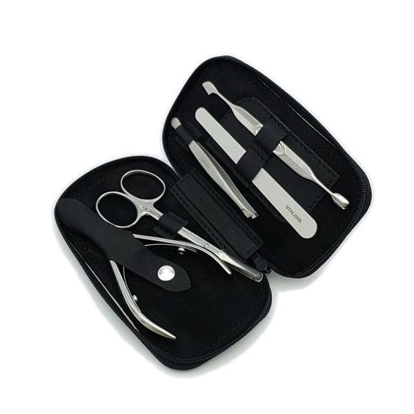 Маникюрные наборы Маникюрный набор ECO Basic, 5 предметов MS-01E-Basic-Black-3.jpg