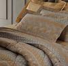 Постельное белье 2 спальное Mirabello Brussel серо-бежевое