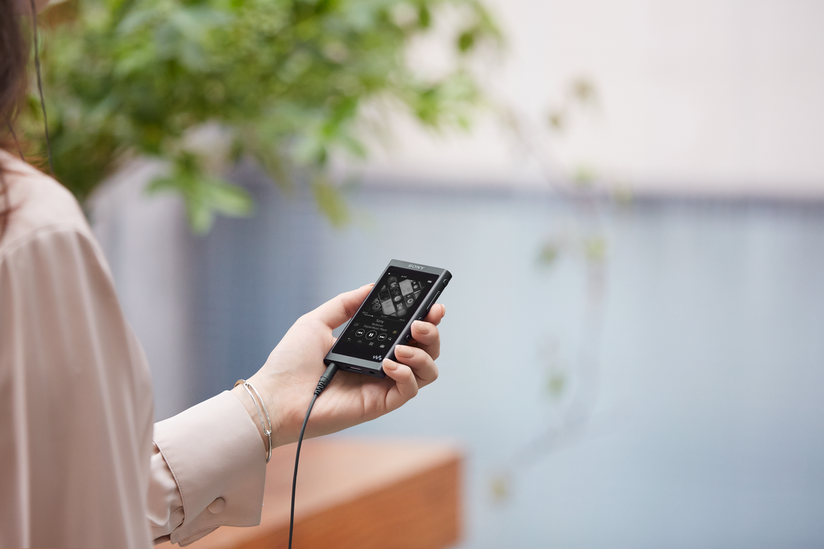 Аудиоплеер Sony Walkman NW-A55, цвет чёрный.