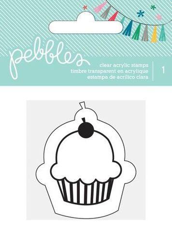 Силиконовый штамп Pebbles