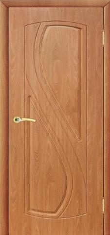 Дверь Сибирь Профиль Рада, цвет миланский орех, глухая
