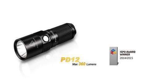 Fenix PD12 (XM-L2 T6, ANSI 360 лм, 1xCR123A)