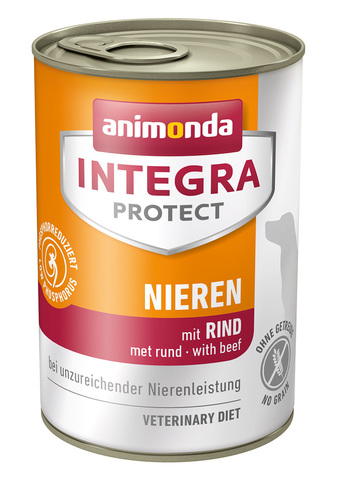 Animonda Integra Protect Dog (банка) Nieren (RENAL) with Beef
