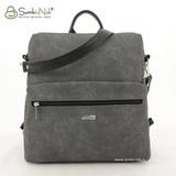 Сумка Саломея 553 сфинкс серый (рюкзак)