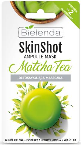 SKIN SHOT Детоксифицирующая маска, Чай мята, 8 г