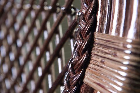 """Плетеное кресло """"Классика-2"""" с мягкой сидушкой"""