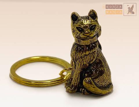 брелок Кошка с бантиком