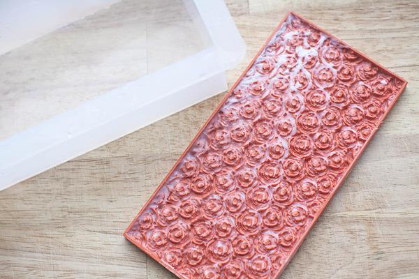 Текстурный лист для мыла Розы
