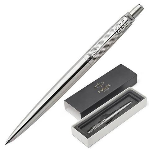 1953197 Parker Jotter Premium Stainless Steel Diagonal CT Шариковая ручка