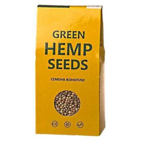 Семена конопли Green Hemp Seeds 150гр