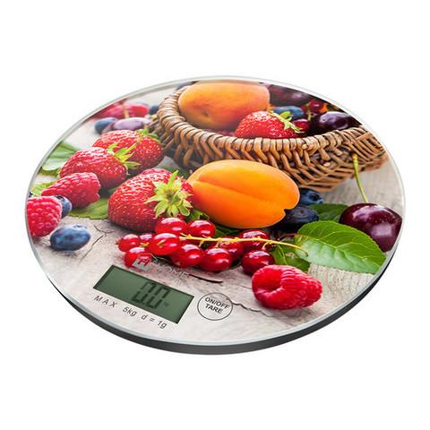 Весы кухонные сенсор HOME ELEMENT HE-SC933 ягодный микс