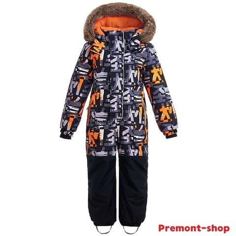 Зимний комбинезон Premont Лес Уайтхорса WP92176 Black