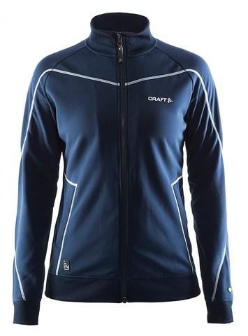 Craft In the Zone женская куртка спортивного стиля темно-синяя