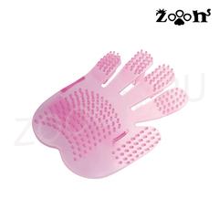 Dezzie рукавица массажная односторонняя из пластика 13,5х17,5 см