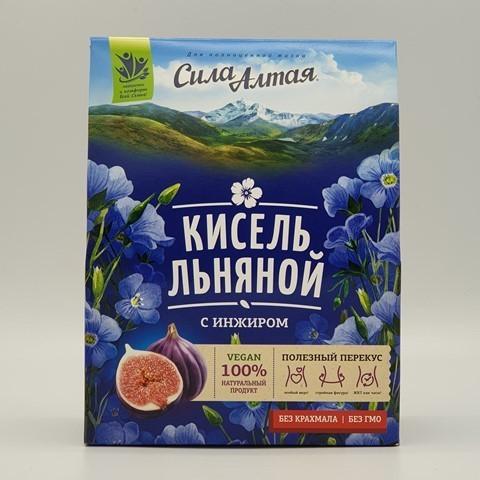 Кисель льняной с инжиром СПЕЦИАЛИСТ, 150 гр