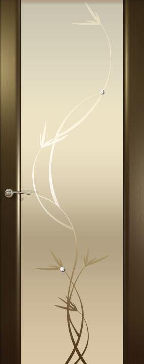 Шторм-3 (Растение)ДО, Венге, Дверное полотно, ОКЕАН