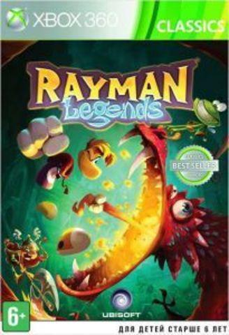 Microsoft Xbox 360 Rayman Legends (русская версия)