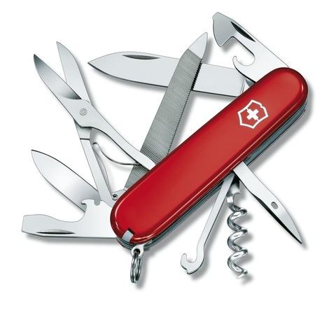 Складной нож Victorinox Mountaineer (1.3743) 91 мм., 18 функций - Wenger-Victorinox.Ru