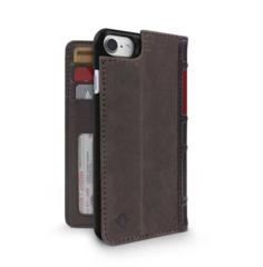Чехол-книжка Twelve South BookBook для iPhone 8, 7, 6s, 6 кожа коричневый
