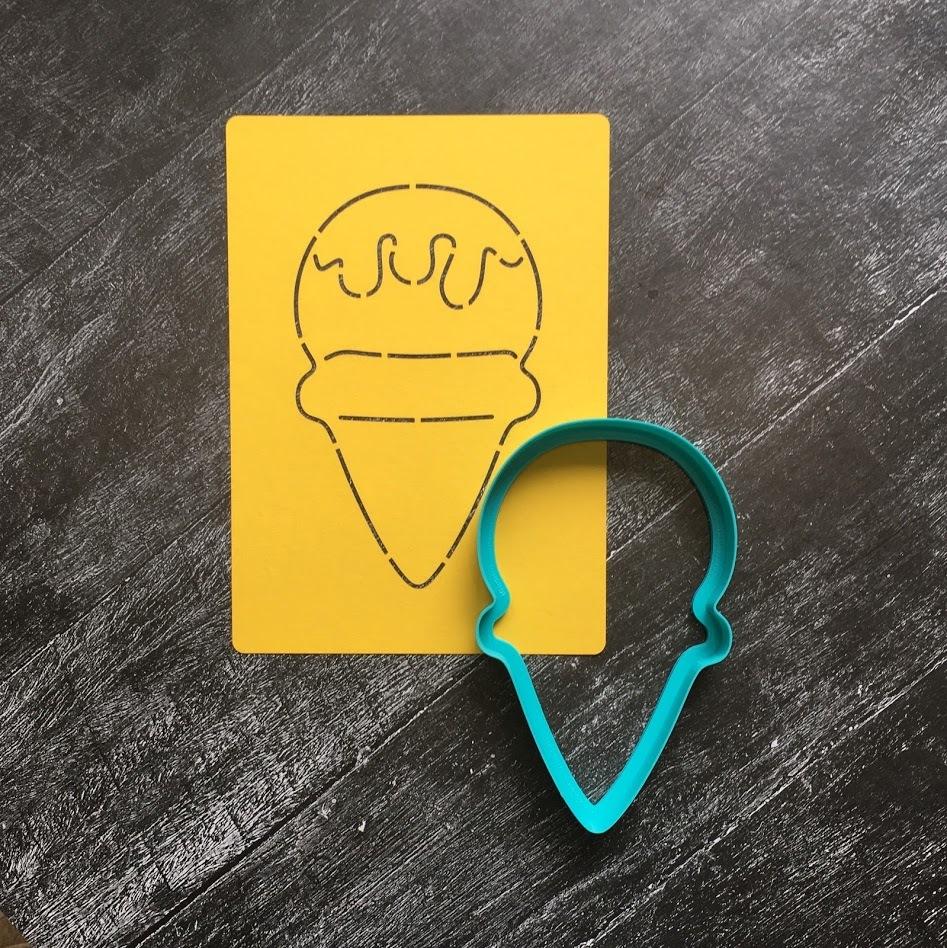 Рожок мороженого №4