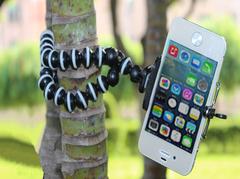Универсальный гибкий держатель/штатив для смартфона