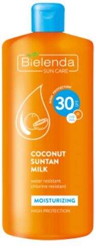 SUN CARE Кокосовое молоко для загара SPF-30 200ml (*12)