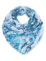 FC815-2-6 платок женский, голубой
