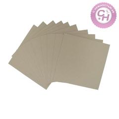 Переплетный картон для творчества, 30*30 см, 0,7 мм, серый, 1 шт.