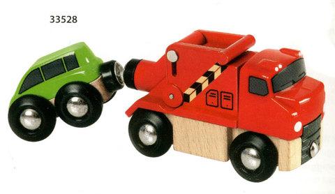 BRIO 33528 Машинка-буксир с машинкой