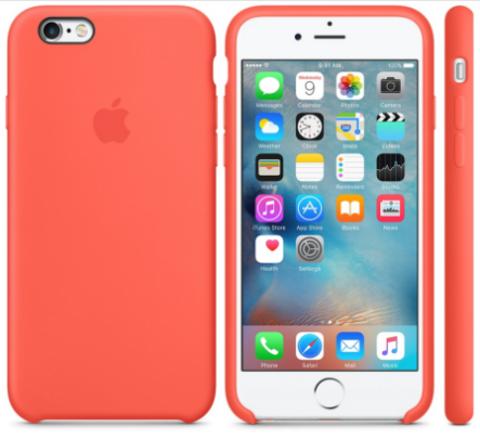 iPhone 6/6s Silicone Case  Абрикосовый