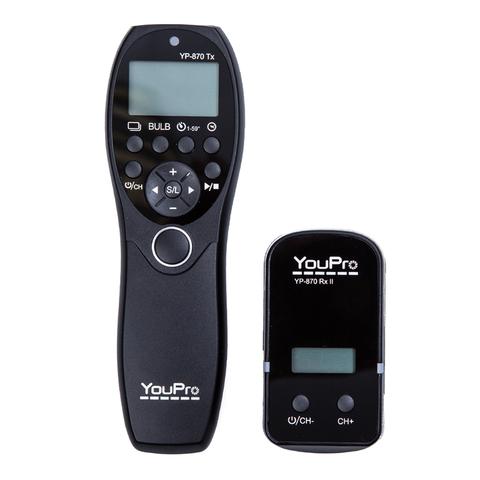 Интервальный пульт YouPro YP-870 N3 для Canon