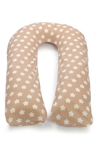 Подушка для беременных U340 (Холлофайбер) 10133 звезды белые