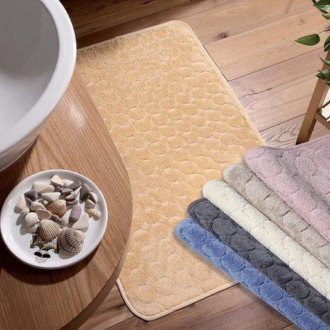 Коврик для ванной 50x80 Vingi Ricami Zurigo золотой