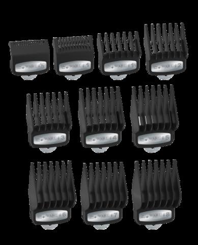 Набор насадок Wahl 3421-100 Premium от 1,5 до 25 мм (10 шт).