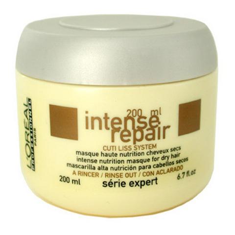 Маска питательная для сухих волос INTENSE REPAIR, LOREAL, 200 мл.