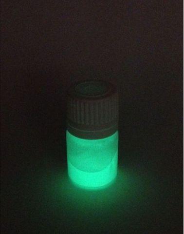 Краситель для пластика Полиморфус светящийся салатовый 3 гр.