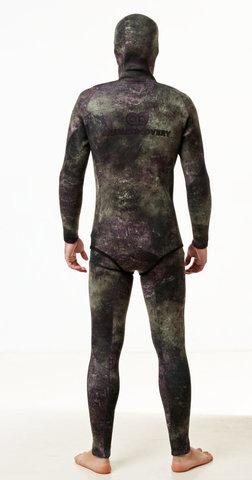 Гидрокостюм Aquadiscovery Кочевник Camo Green 9 мм