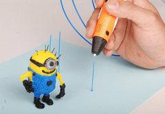 3D ручка Myriwell RP100A (оранжевая)