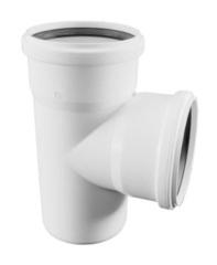 Тройник Rehau Raupiano Plus 50/50/87° для канализационных труб