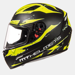 Мотошлем MT MUGELLO VAPOR HI-VIS YELLOW