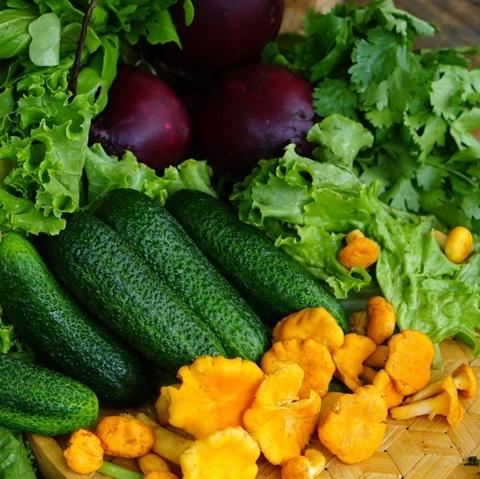 Фотография Набор из домашних овощей и зелени 8,5 кг купить в магазине Афлора
