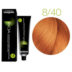 L'Oreal Professionnel INOA 8.40 (Светлый блондин медный глубокий) - Краска для волос
