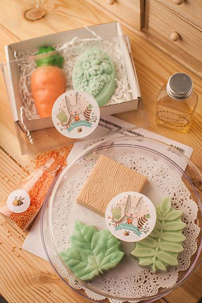 Мыло по форме Морковка