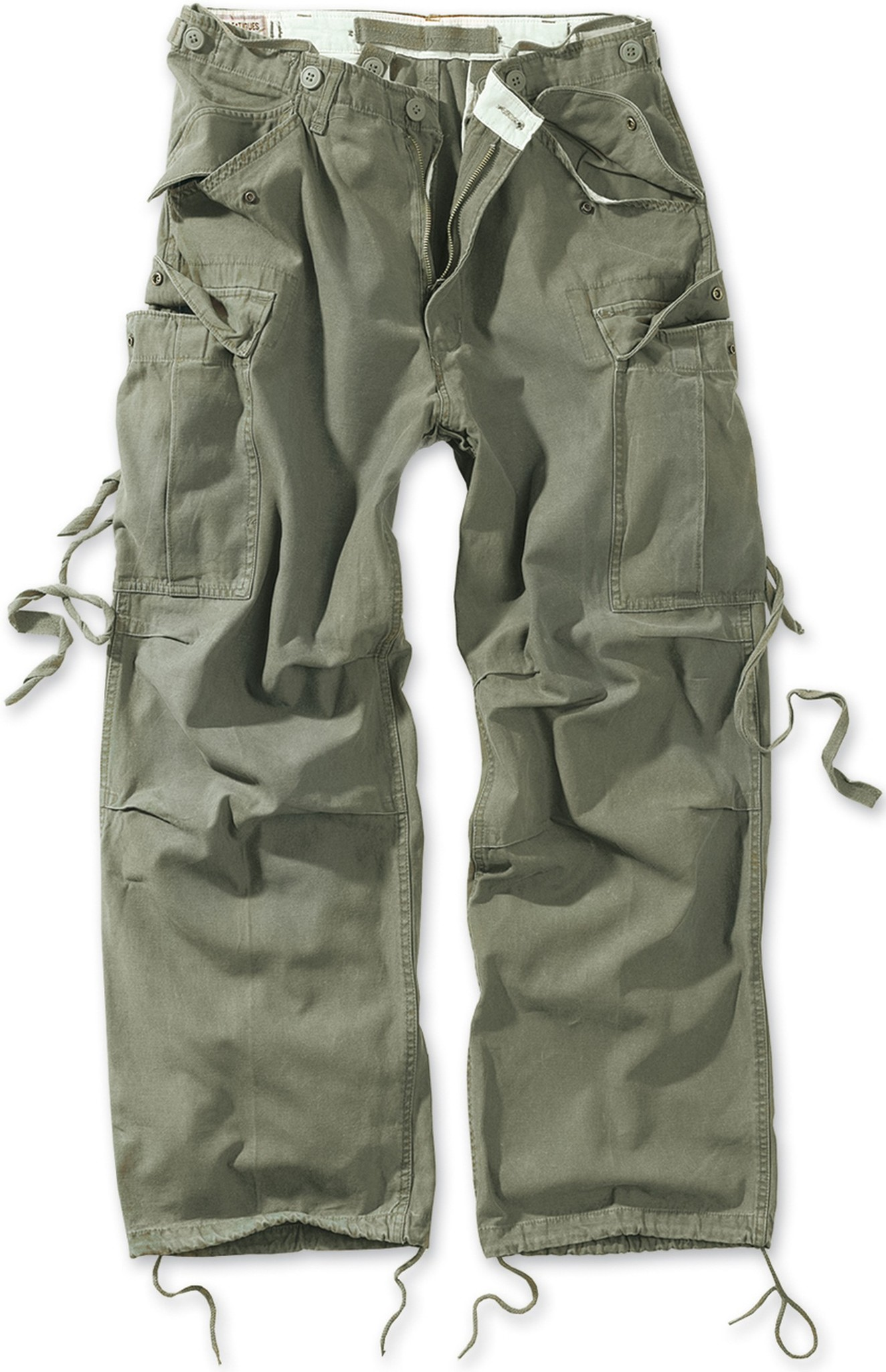 Штаны  Surplus Vintage Fatigues Trousers (олива - olive)